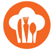FoodRight Submark Logo Orange