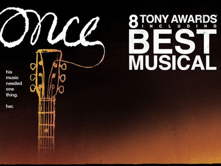 "Rob Reviews ""Once: The Musical"""