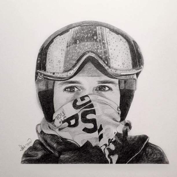 Portrait of Boris with Ski Gear