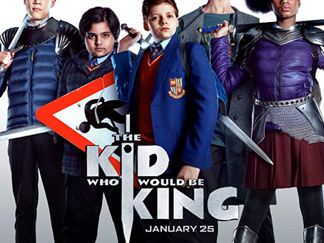 """Rob Reviews """"The Kid Who Would Be King"""""""