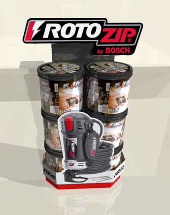 Rotozip Display Box