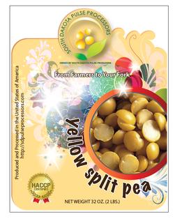 Yellow Pea Label
