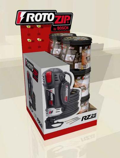 Rotozip Display Box