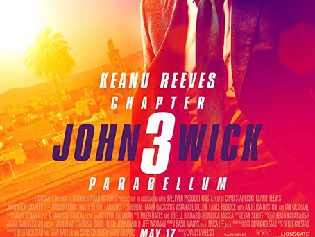 "Chad Reviews ""John Wick, Chapter 3: Parabellum"""