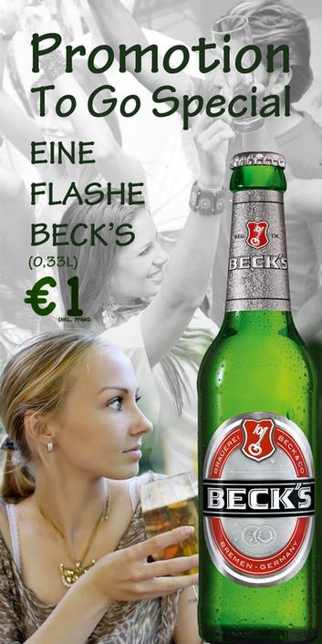 Promotion Flyer - Beer
