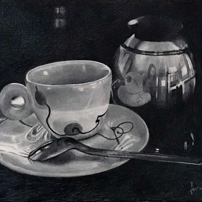 Espresso Cup with Sugar Bowl