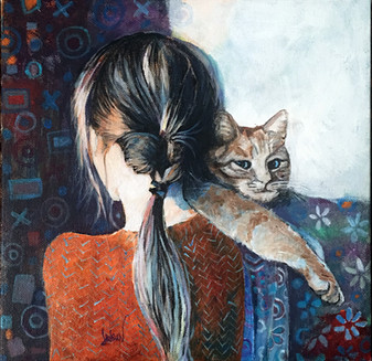 With a Cat