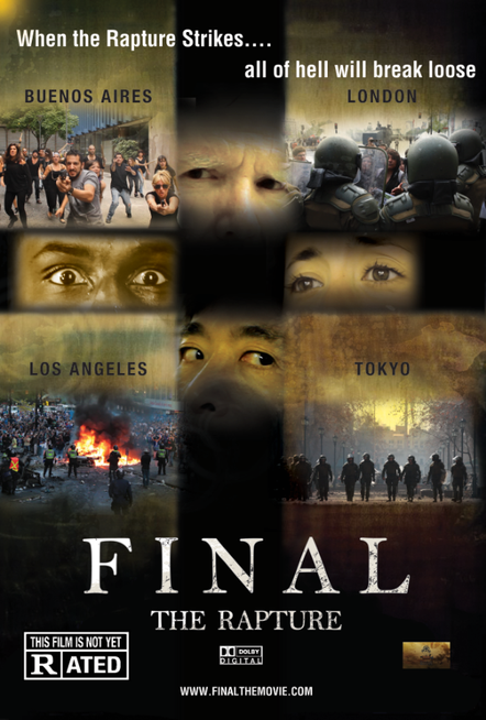 Final The Rapture Movie Poster