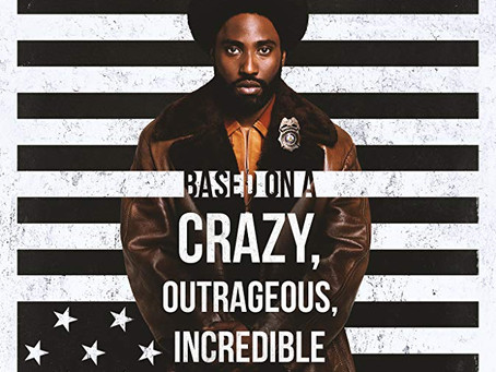 "Rob Reviews ""BlacKkKlansman"""