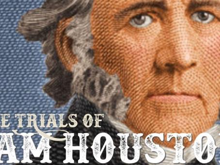"Jenn Rohm Reviews ""The Trials of Sam Houston"""