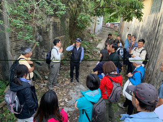 郊野公園及海岸公園委員會委員考察 Members of the Country Parks and Marine Parks Board visit Lai Chi Wo