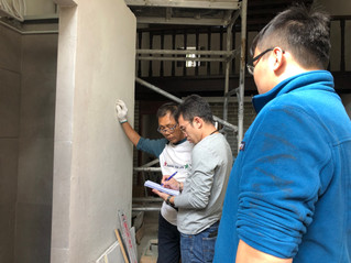 LOT 228A & 228C 屋宇復修工程進度檢視 Review of the progress of house restoration works