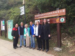 前港督尤德爵士夫人親臨荔枝窩 Lady Pamela Youde visited Lai Chi Wo