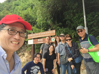 建築保育顧問考察荔枝窩 Architectural conservationists visited Lai Chi Wo