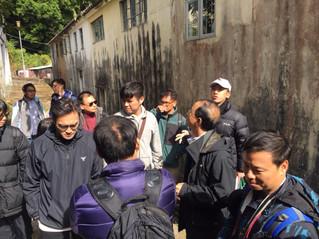香港工程師學會(環境分部)會員考察荔枝窩 Members of Hong Kong Institution of Engineers (Environmental Division) visited