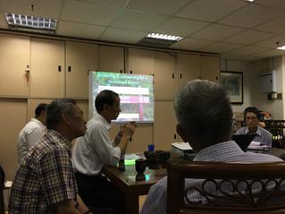 復修項目「申請規劃」環保團體大會  Green Group meeting - Lai Chi Wo Village Revitalization scheme TPB application