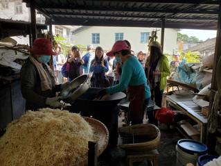客家生活體驗活動單元三——擔水坑炒米通製作工作坊