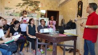 建築設計顧問團隊實地考察  Architectural consultant teams visited Lai Chi Wo