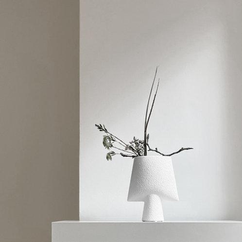 101 Copenhagen Sphere Vase Square, Mini - Hvit