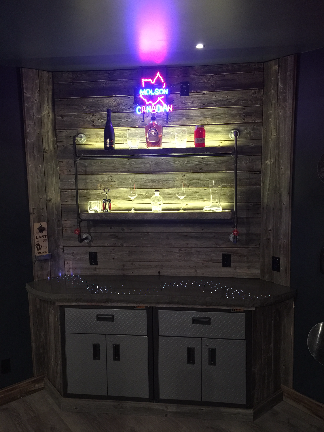 Man Cave - Bar Lights