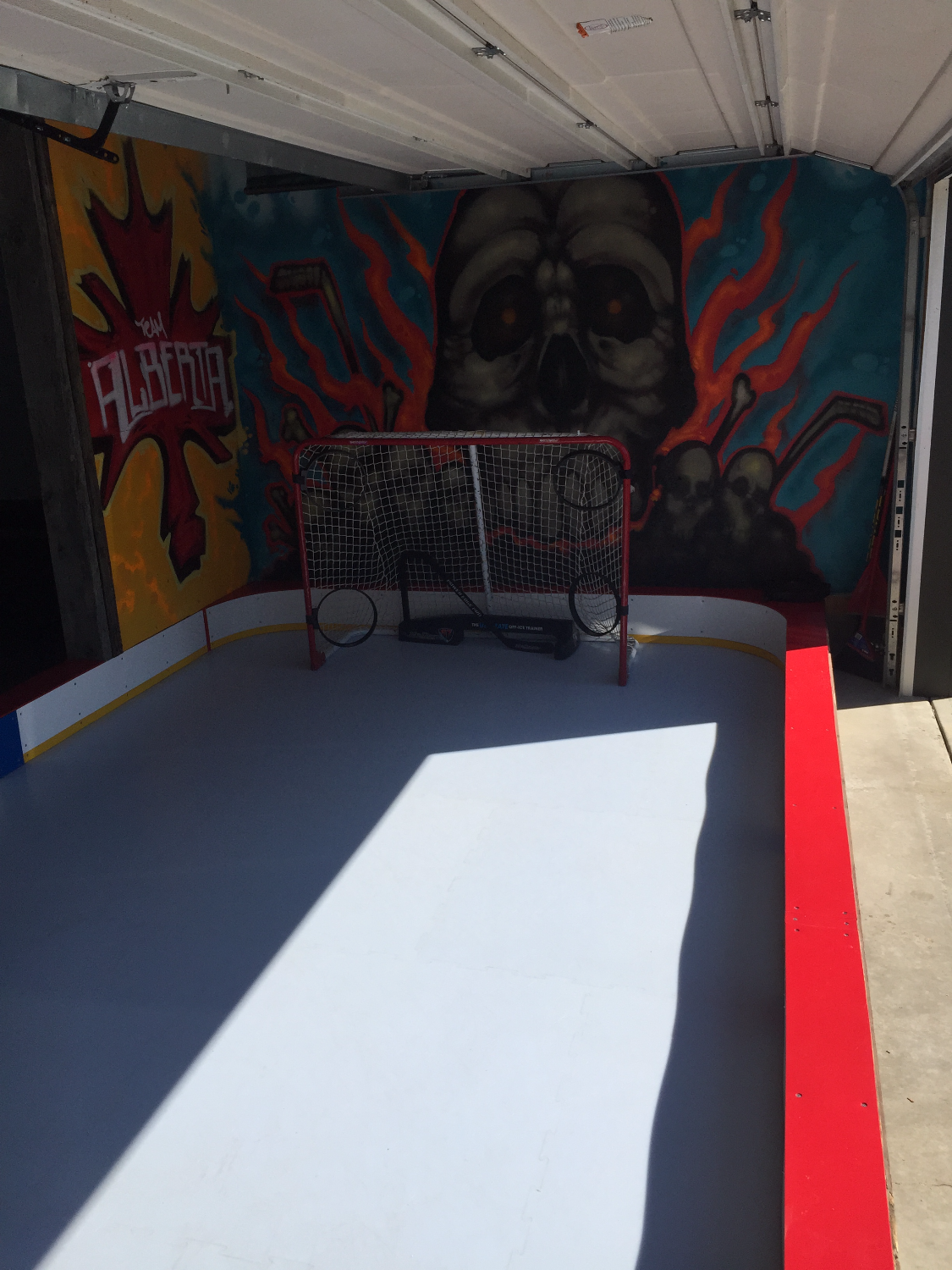 Man Cave - Synthetic Ice Rink 2
