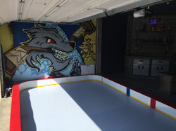 Man Cave - Synthetic Ice Rink