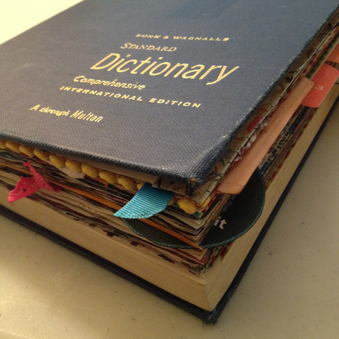 An old dictionary