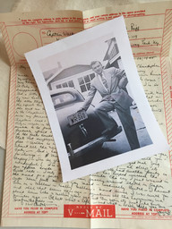 Walter with letter