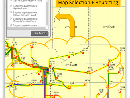 TRIAGE Risk Results + Mitigation within AbaData Pipeline Mapping APP