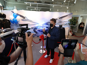 World's first flying car showroom opens!