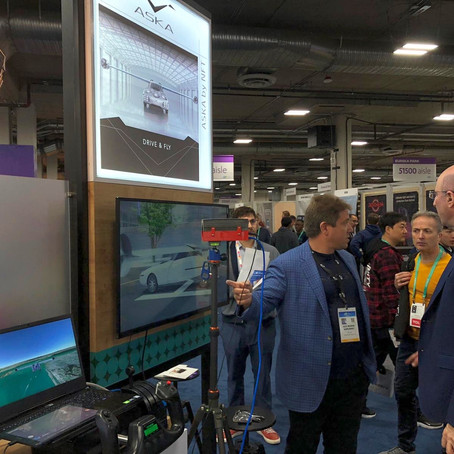 CES 2020 - it's a wrap!  NFT demos two flight and transport innovations