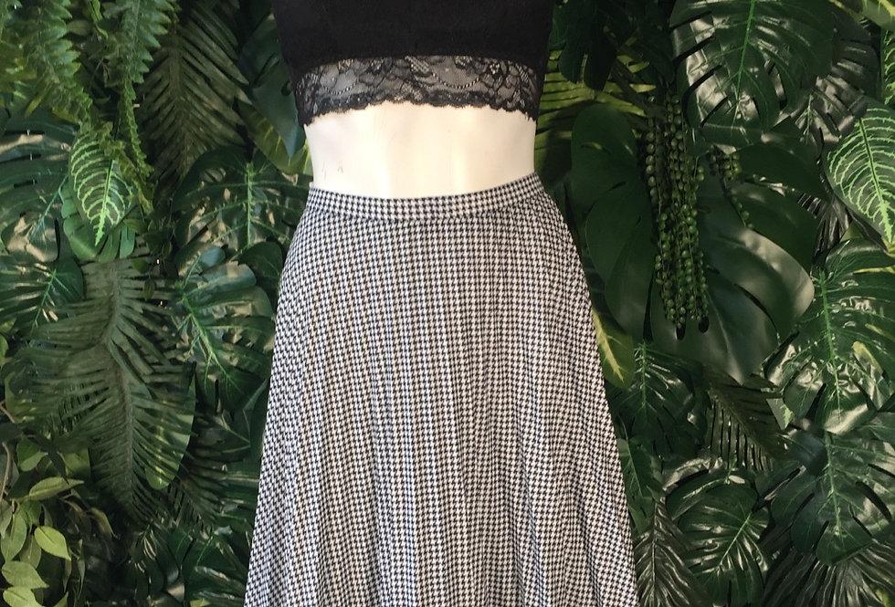 Frankenwalder houndstooth skirt (size 42)