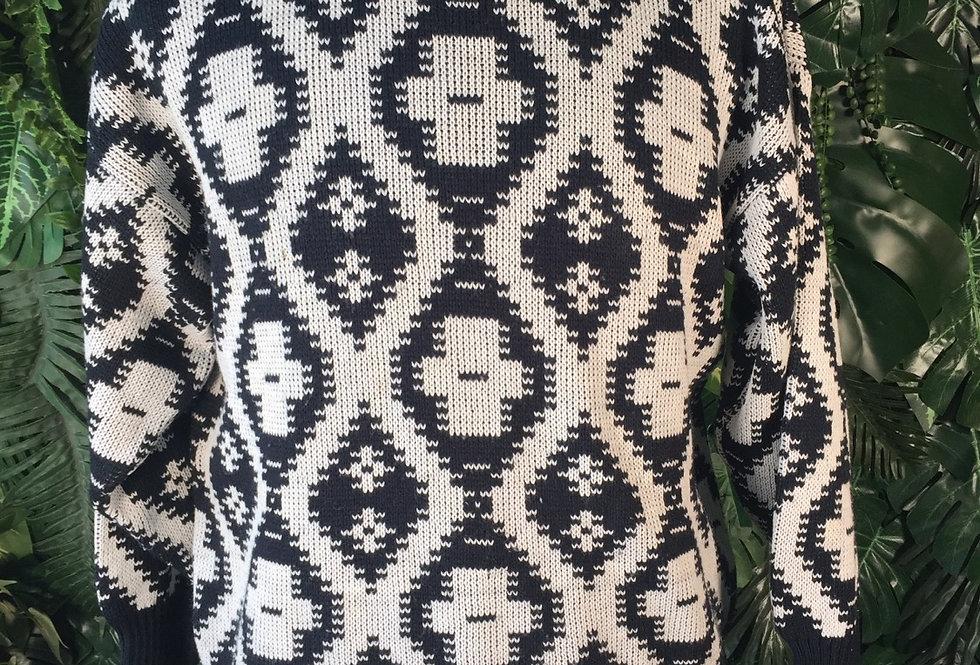 Monochrome knit (S)