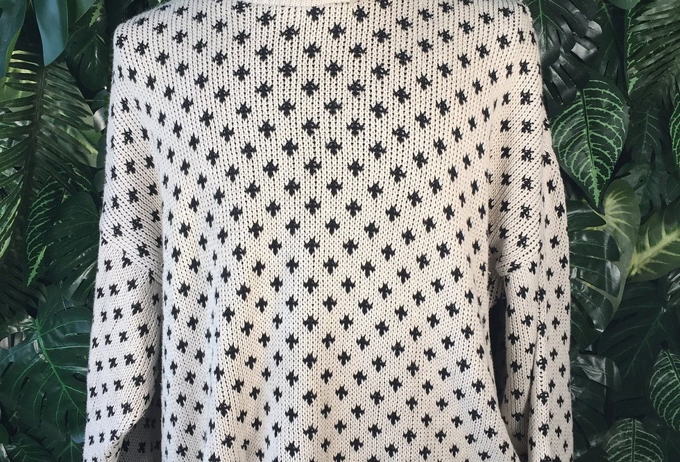 Connemara graphic knit (L)