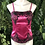 Thumbnail: Chiffon lace pink corset