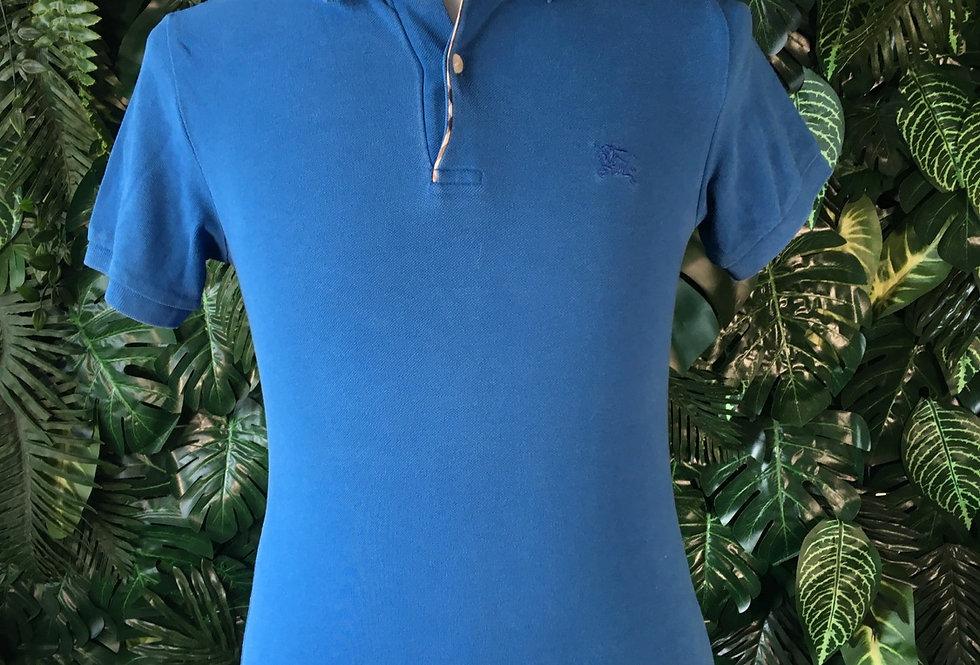 Burberry classic blue polo shirt (xs)