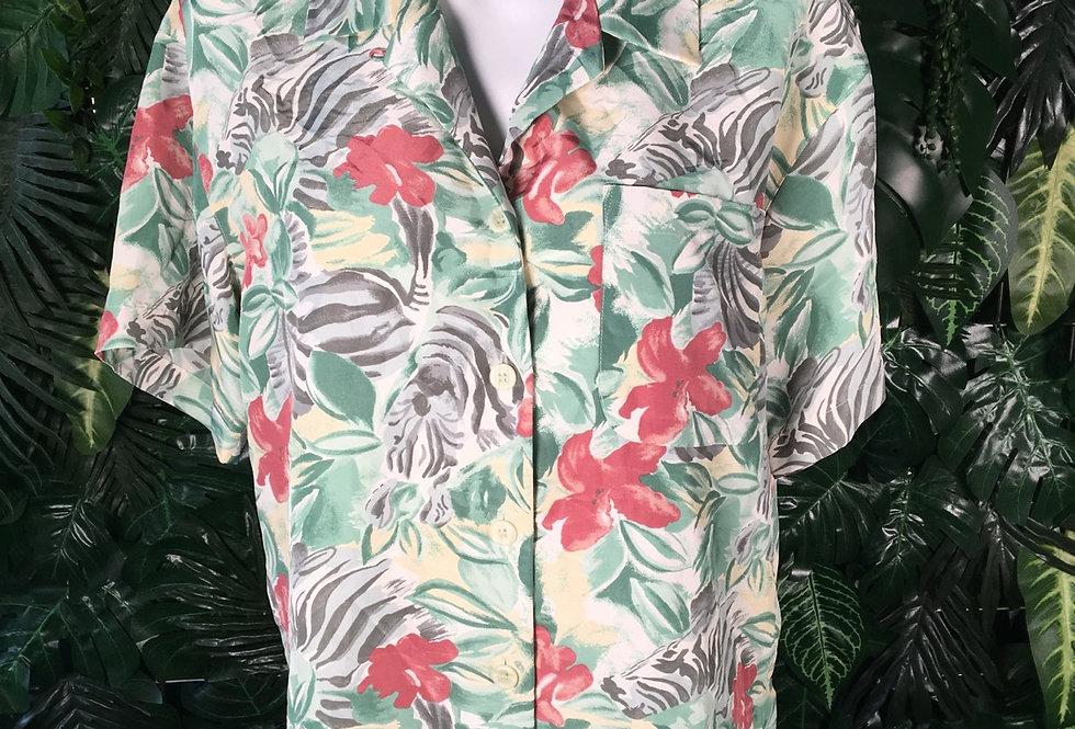 Gran Joue floral blouse