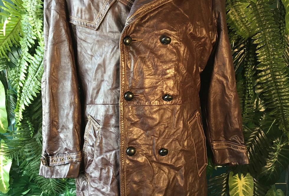 Grais Tailored Leather Coat