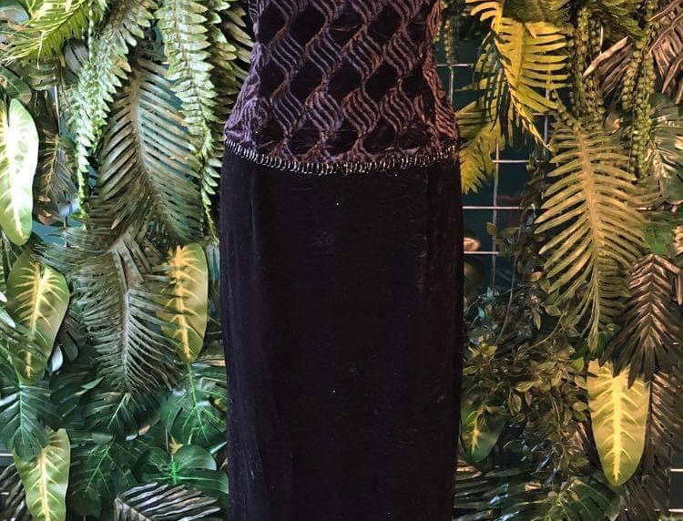 Scott McClintock Velvet Dress (12)