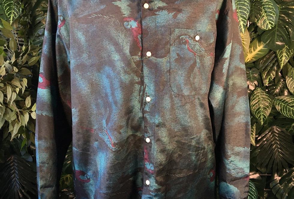 Kit Thailand 90s parrot shirt (XL)