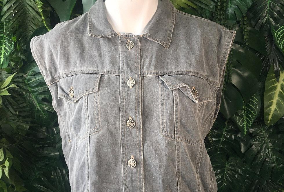 Good Look denim vest (M)