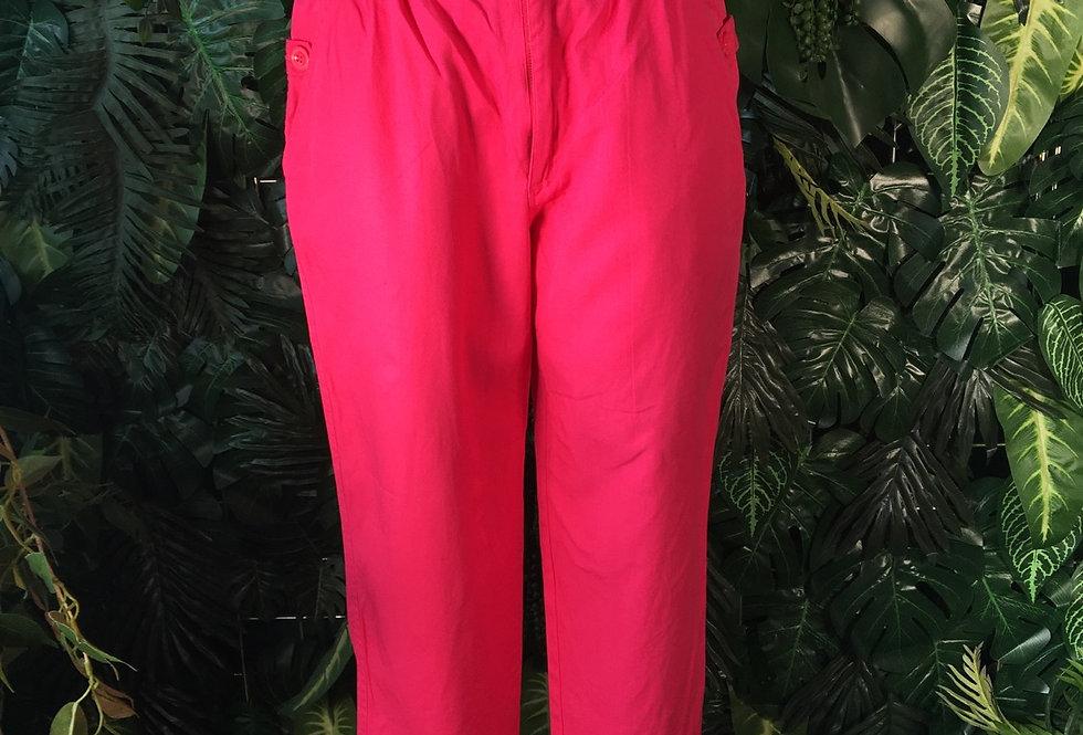 Pink cotton jeans (Size8-10)