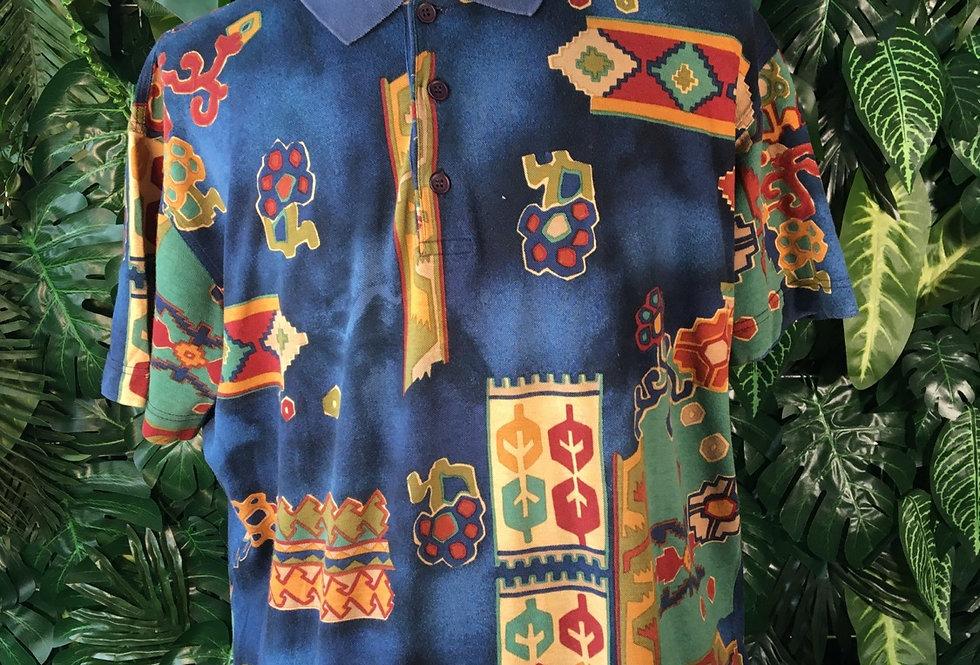 Blackberry 90s polo shirt (M)