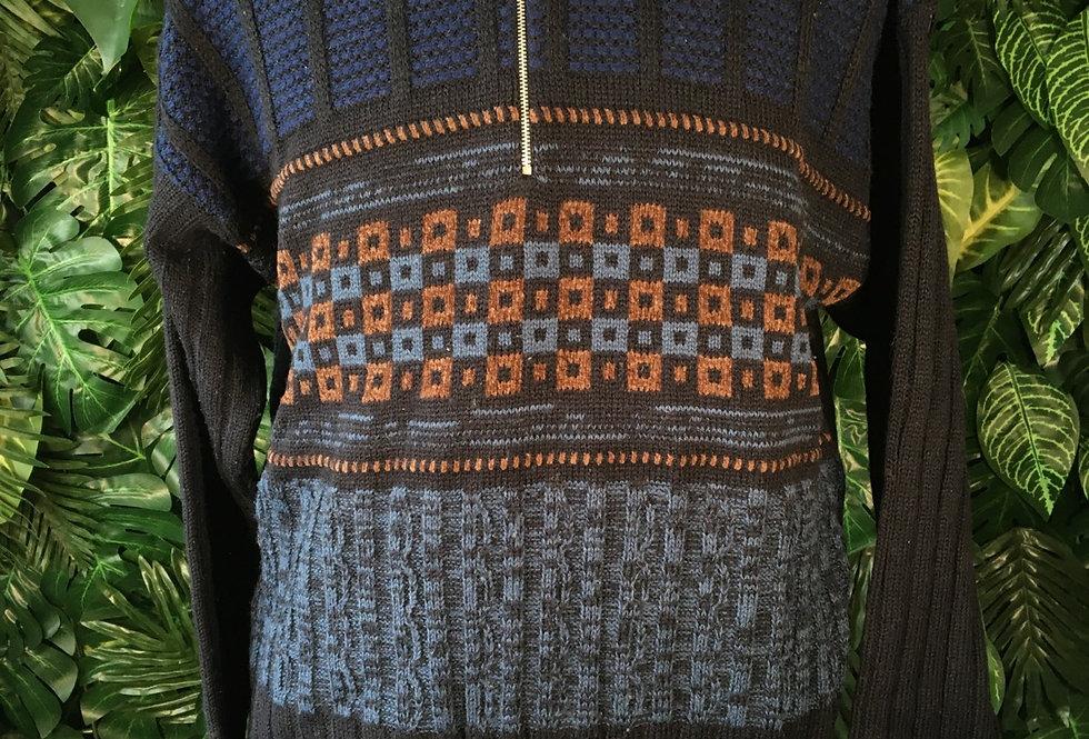 Iceland zip knit (M)