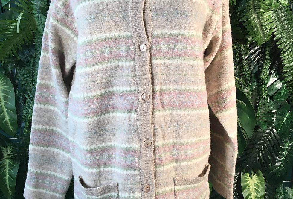 Wool Cardigan (S)