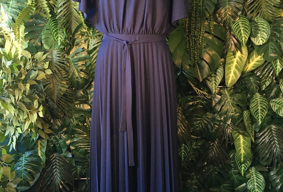 Dorette pleated dress (size 8)