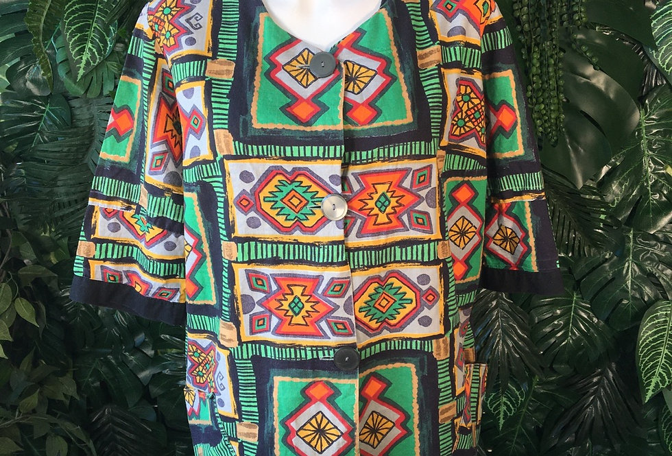 Geometric blouse (size 18-20)