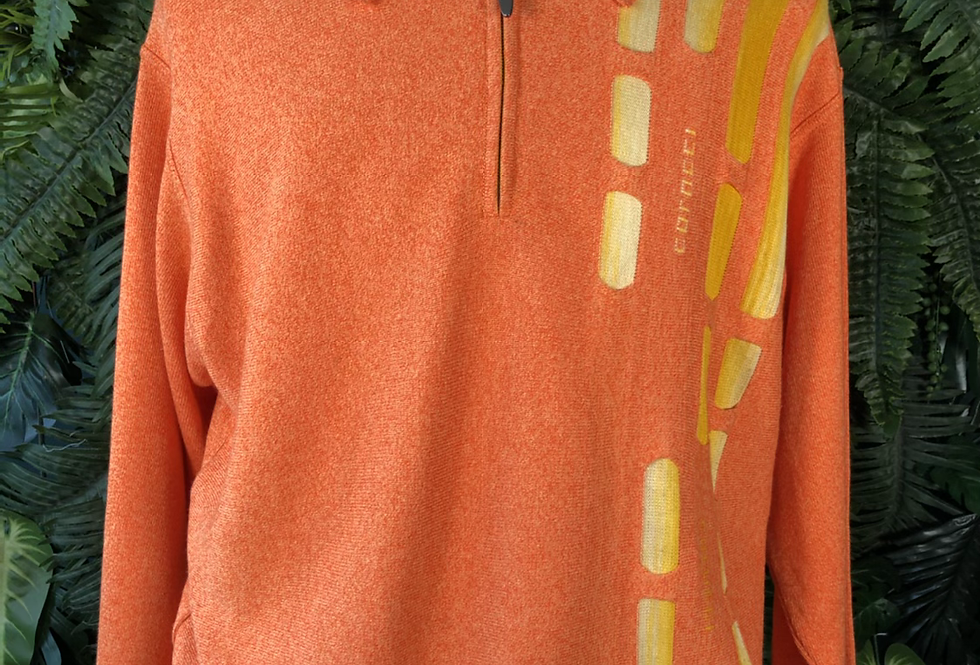 Carlo colucci zip sweater