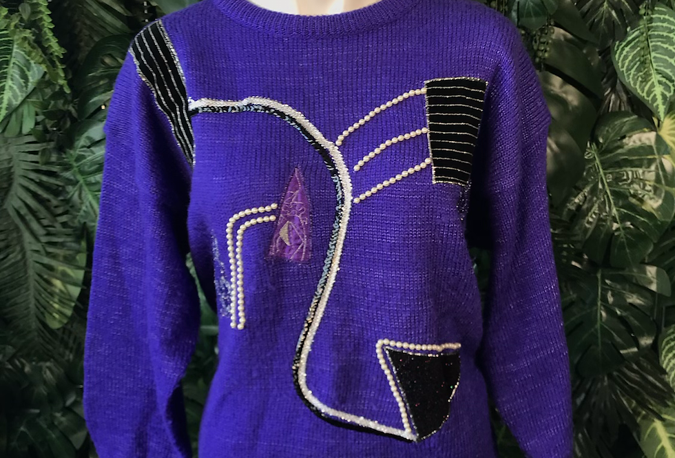 1980s anytime glitz knit (large)