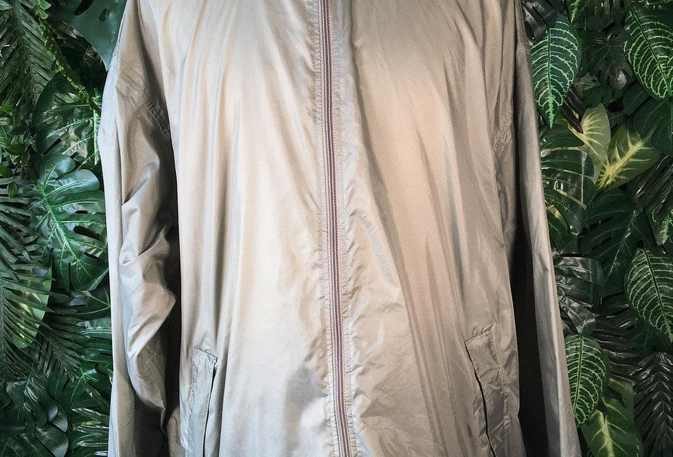 K Way rain jacket with foldaway hood (XL)